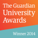 The Guardian University Awards Winner 2014