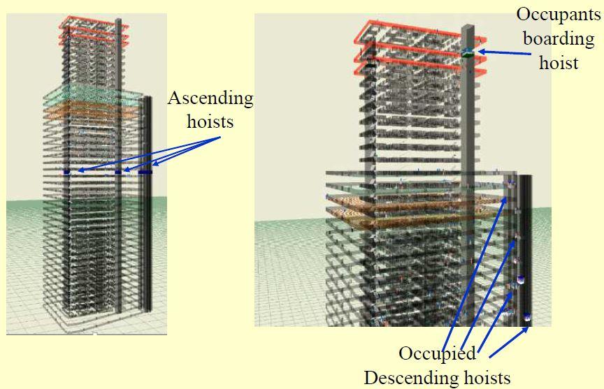 Improving Evacuation Safety of Construction Sites